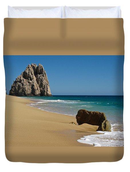 Cabo San Lucas Beach 1 Duvet Cover