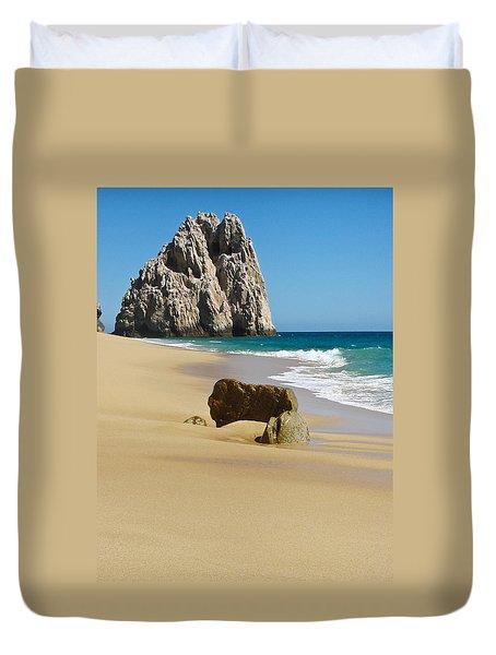 Cabo San Lucas Beach 2 Duvet Cover