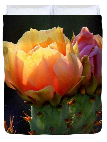 Cactus Blossom Duvet Cover