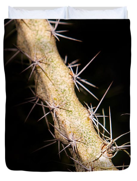 Cactus Branch Duvet Cover