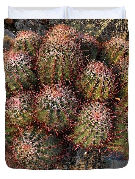 Cactus Burst Duvet Cover