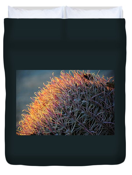 Cactus Rose Duvet Cover