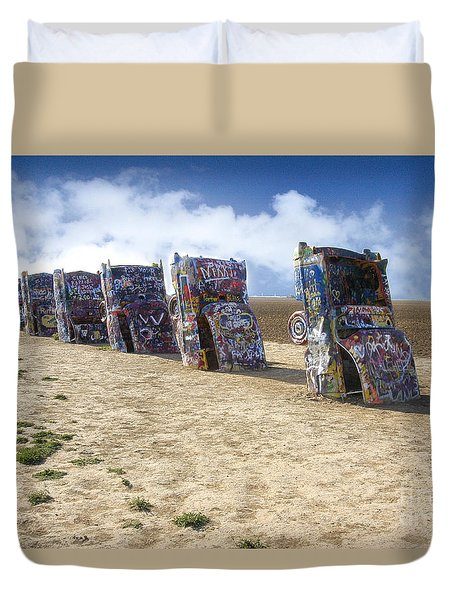 Cadillac Ranch Duvet Cover