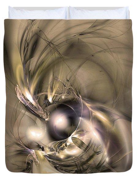 Caelestis - Abstract Art Duvet Cover