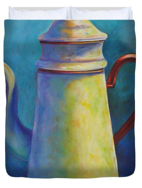 Cafe Au Lait Duvet Cover by Shannon Grissom