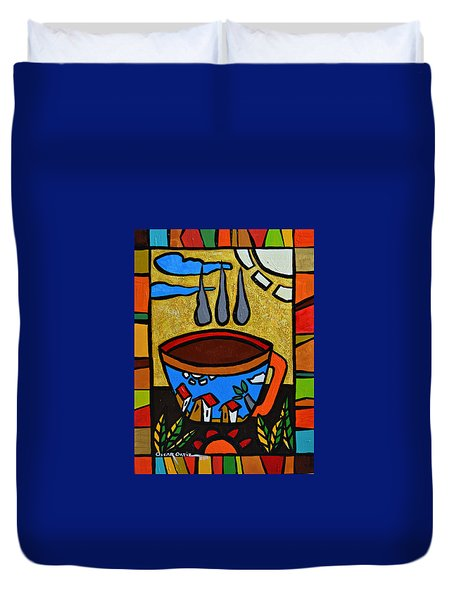 Cafe Criollo  Duvet Cover