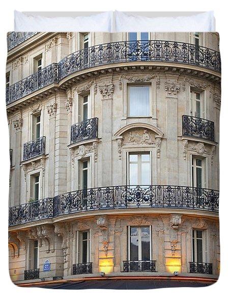 Cafe Francais Duvet Cover