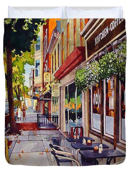 Cafe Nola Duvet Cover