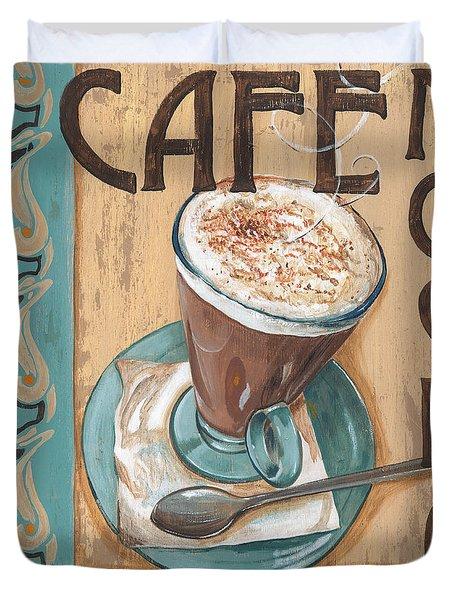 Cafe Nouveau 1 Duvet Cover