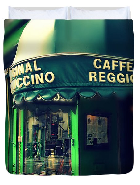 Caffe Reggio Duvet Cover