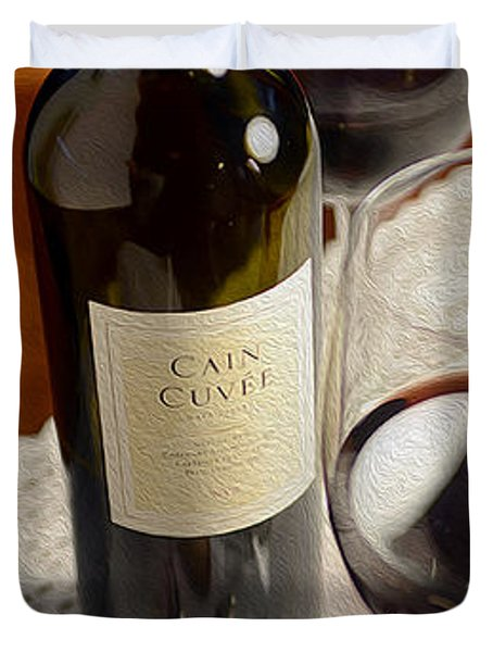 Cain Cuvee Painting Duvet Cover