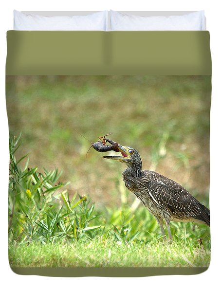 Cajun Feast For Breakfast Duvet Cover