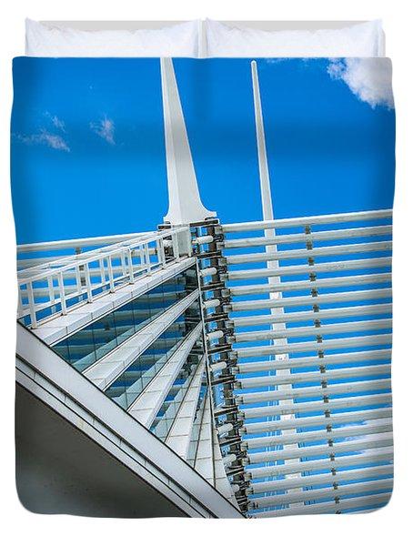 Calatrava Point Duvet Cover