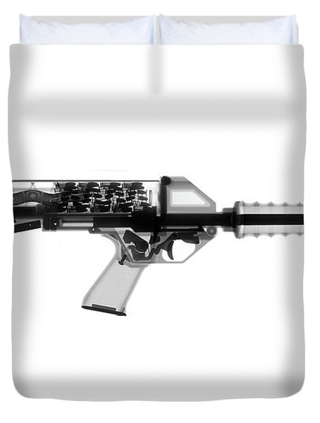 Calico M100 X-ray Photograph Duvet Cover