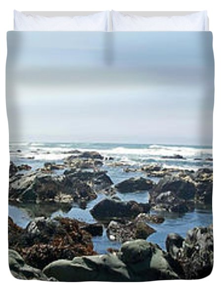 California Beach 1 Duvet Cover