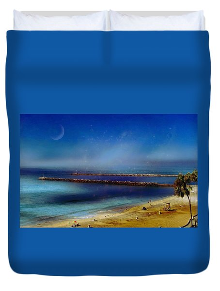California Dreaming Duvet Cover by Tammy Espino