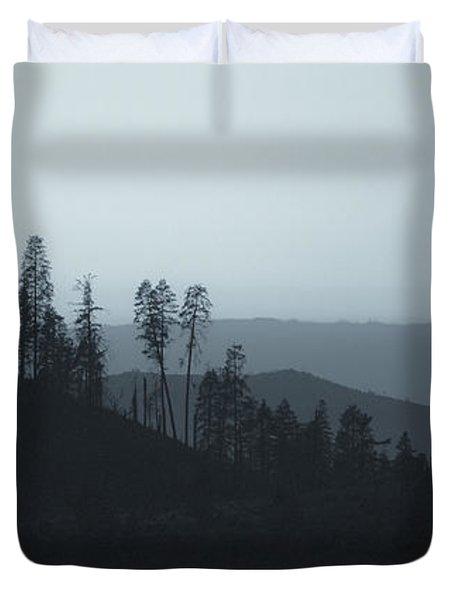 California Gray Skies Duvet Cover