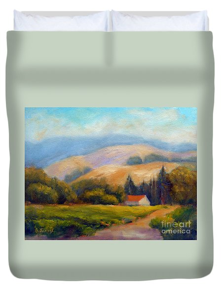 California Hills Duvet Cover