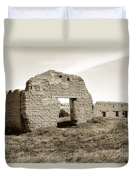Soledad  California Mission  Monterey Co. Circa 1900 Duvet Cover