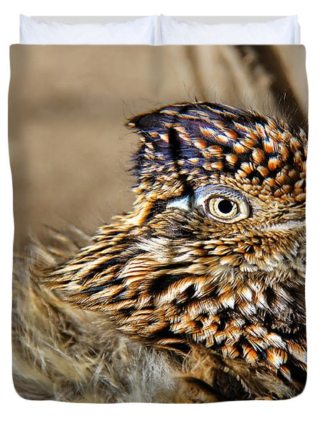 California Roadrunner Duvet Cover