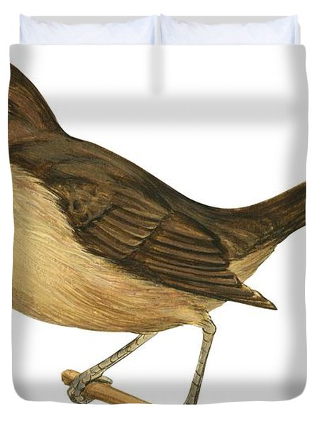 California Thrasher Duvet Cover by Anonymous