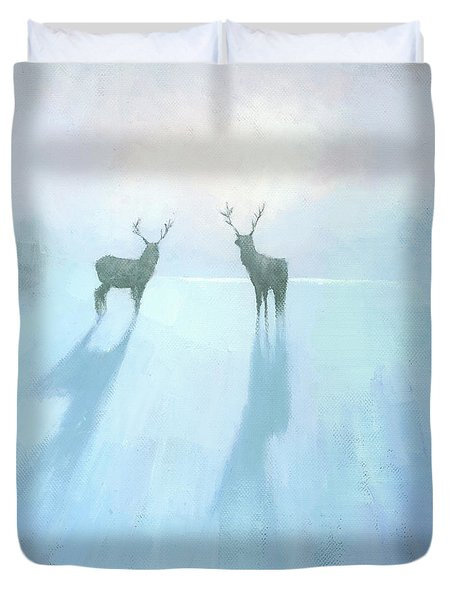 Call Of The Arctic Duvet Cover