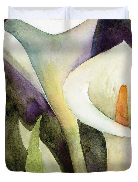 Calla Lilies Duvet Cover
