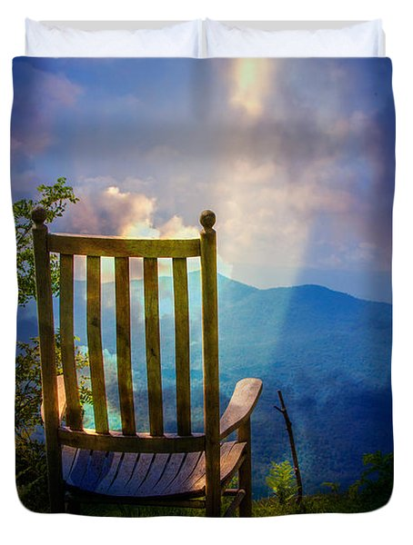 Just Imagine Duvet Cover by John Haldane