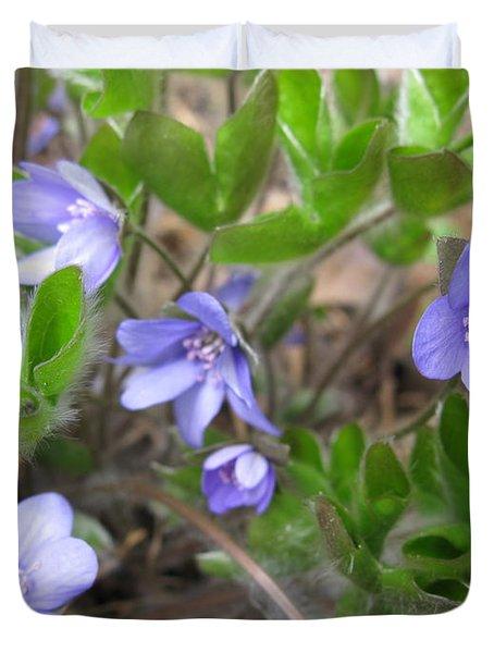 Calling Spring Duvet Cover by Ausra Huntington nee Paulauskaite