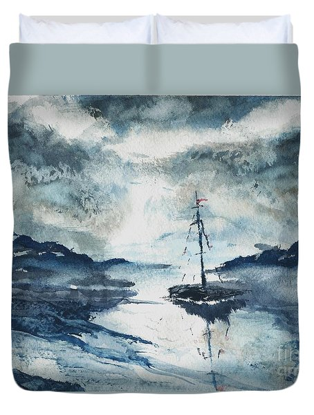 Calm Before The Storm  Duvet Cover