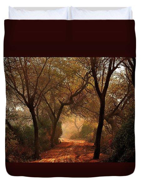 Calm Nature As Fantasy  Duvet Cover