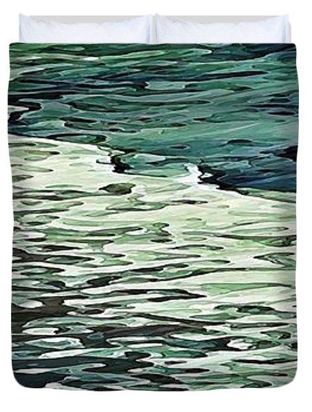 Calm Shores Duvet Cover