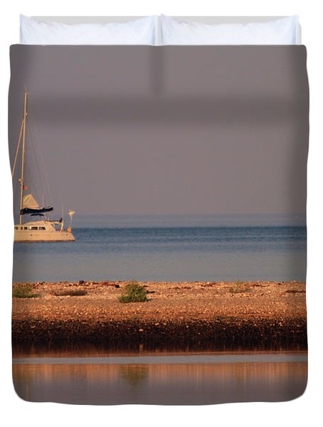Calm Waters Duvet Cover by Karol Livote
