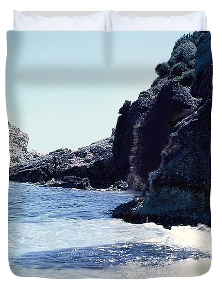 Calming Waves Duvet Cover