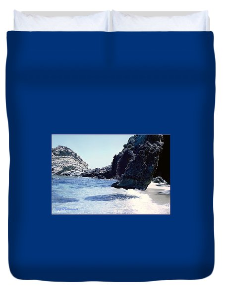 Calming Waves Duvet Cover