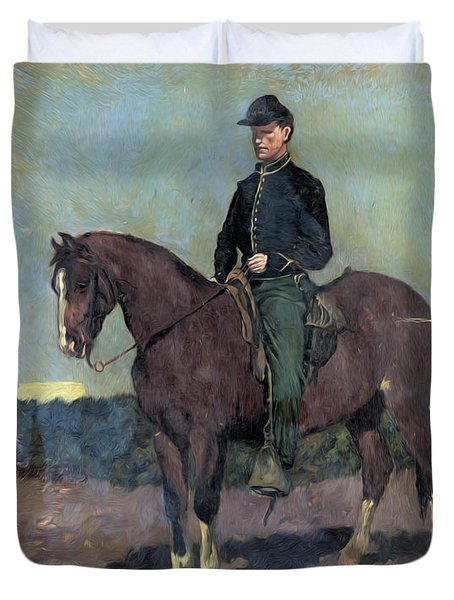Calvary Soldier Duvet Cover