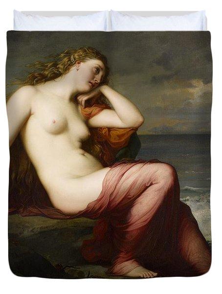 Calypso Duvet Cover by Karl Ernest Rudolf Heinrich Salem