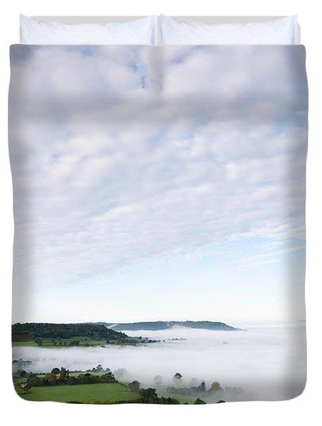 Cam Long Down Duvet Cover by Anne Gilbert