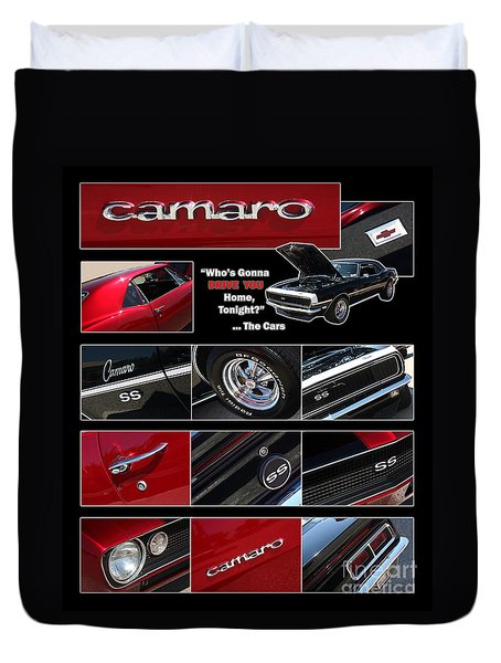 Camaro-drive - Poster Duvet Cover by Gary Gingrich Galleries