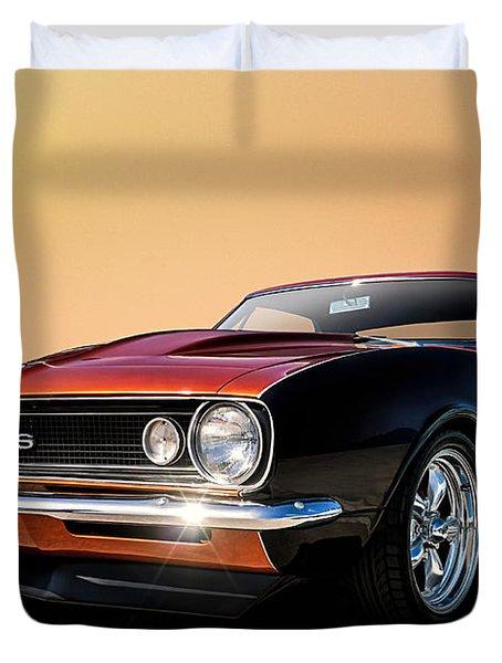 Camaro Ss Duvet Cover