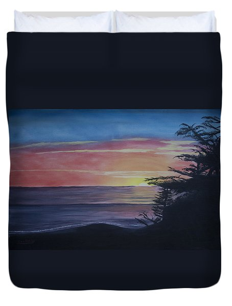 Cambria Setting Sun Duvet Cover