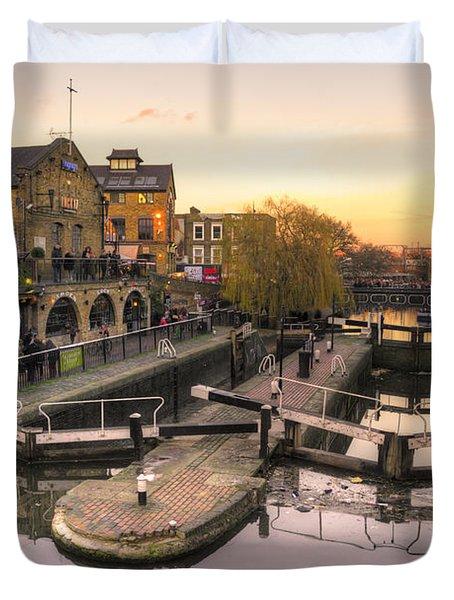 Camden Lock  Duvet Cover