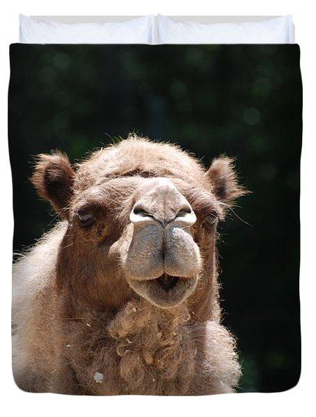 Camel Duvet Cover by DejaVu Designs
