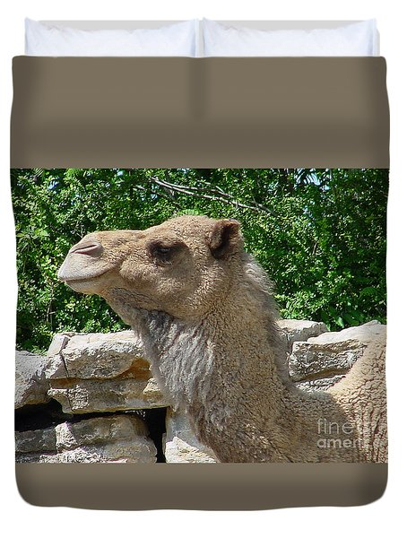Camel Duvet Cover by Gary Gingrich Galleries