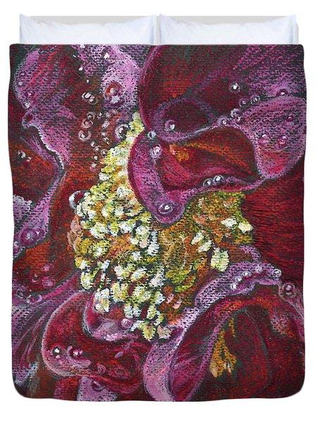 Camellia Rain Duvet Cover