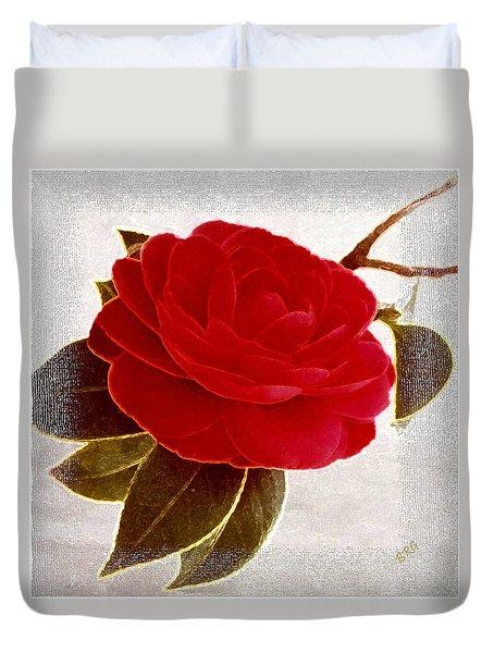 Camellia Spectacular Duvet Cover by Ben and Raisa Gertsberg