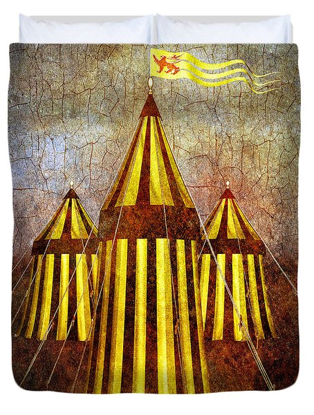 Camelot Restrained Duvet Cover by Bob Orsillo