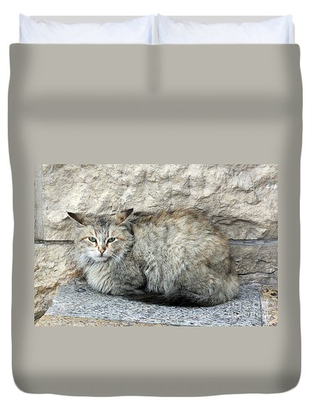 Camo Cat Duvet Cover