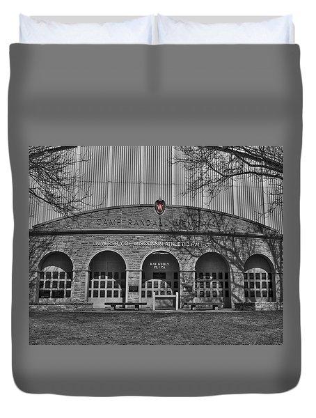 Camp Randall - Madison Duvet Cover