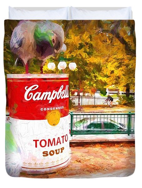 Campbell's Soup Duvet Cover
